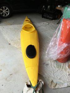 The folding Kayak