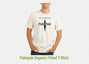 Pakayak organic tshirt