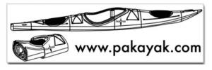 Pakayak bumper sticker