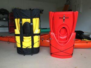 pakayak nesting kayak, packable