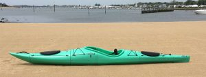 Pakayak assembled, packable kayak