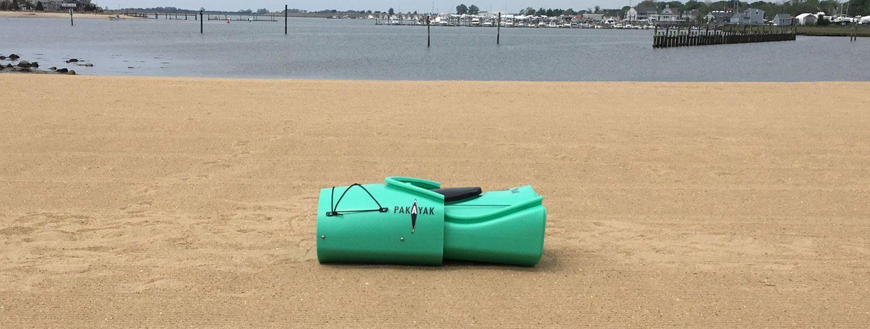 Pakayak packed, packable kayak