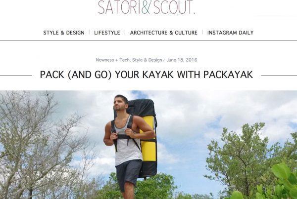 Satori & Scout Pakayak article
