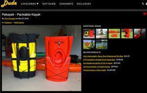 dudeiwantthat.com Pakayak article