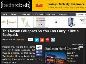 technabob.com Pakayak article