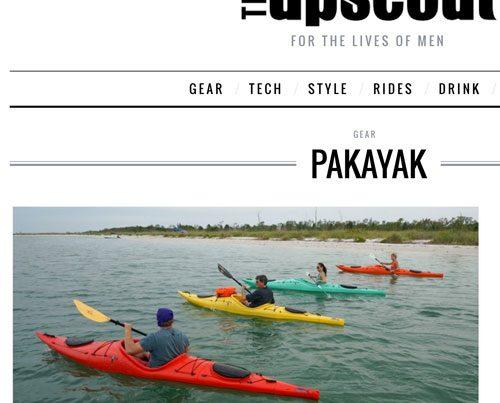Upscout article Pakayak