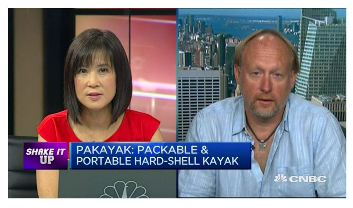 CNBC Asia: Fancy a portable, packable kayak?