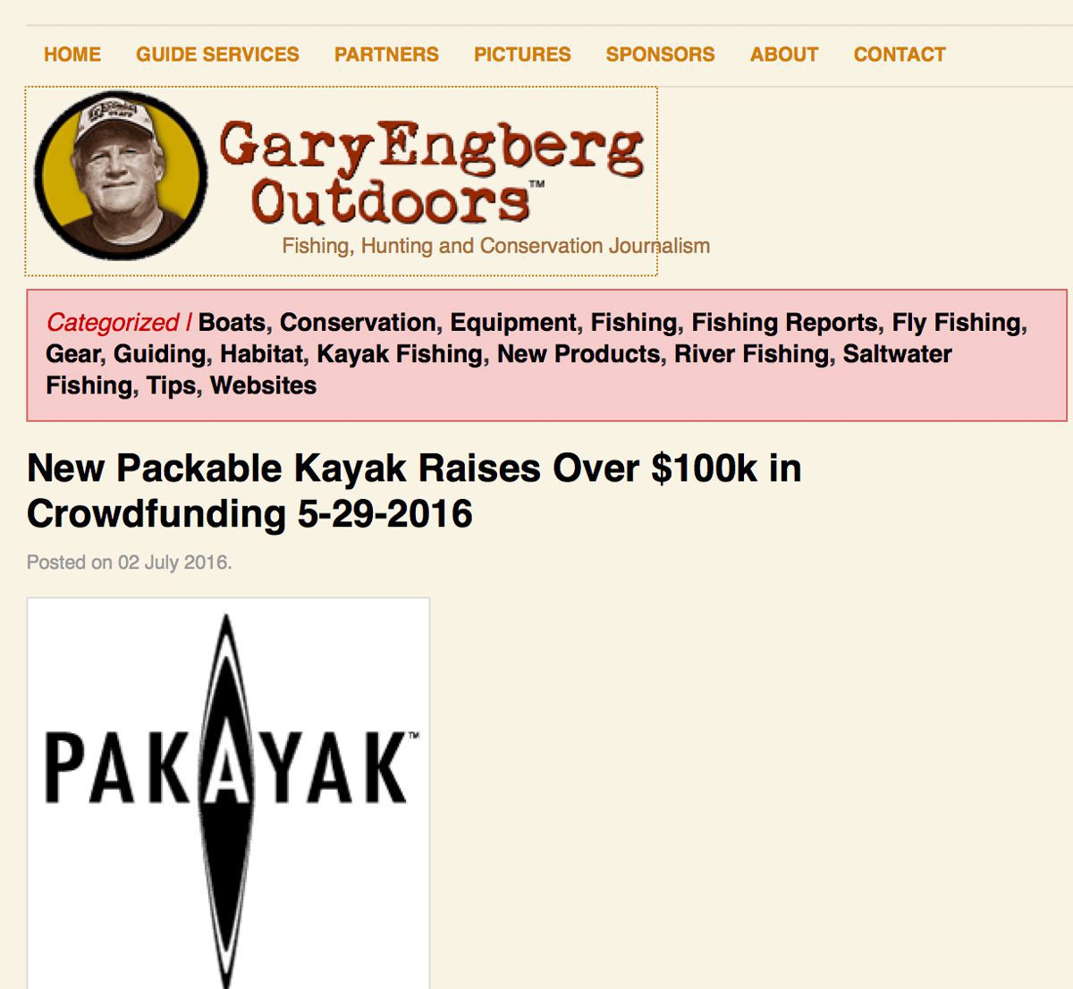 Gary Engberg Outdoors