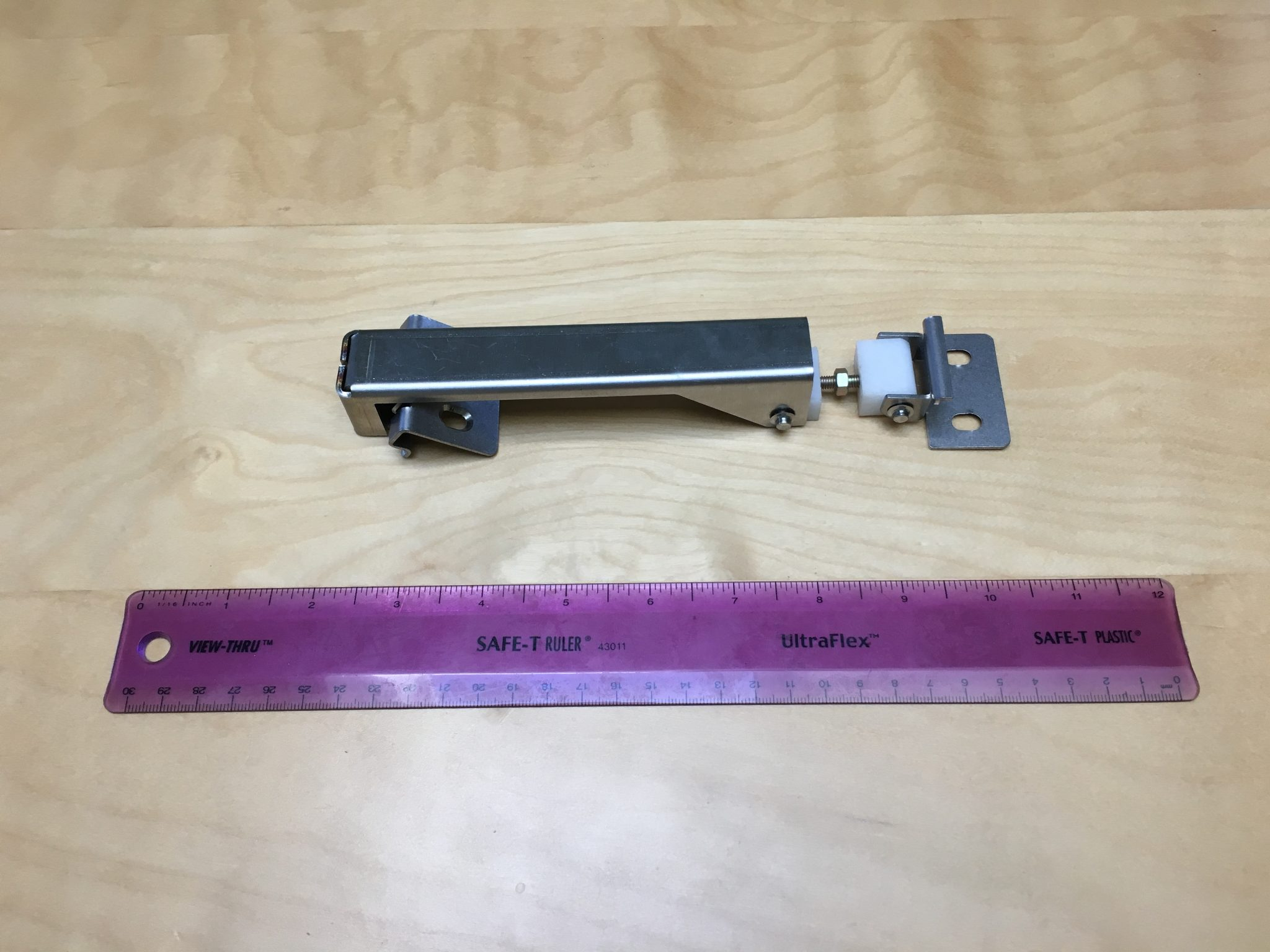 Prototype clamp used in boats for Kickstarter video