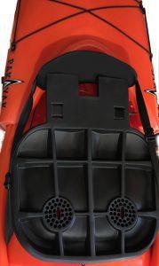 Seat prototype in nested Pakayak