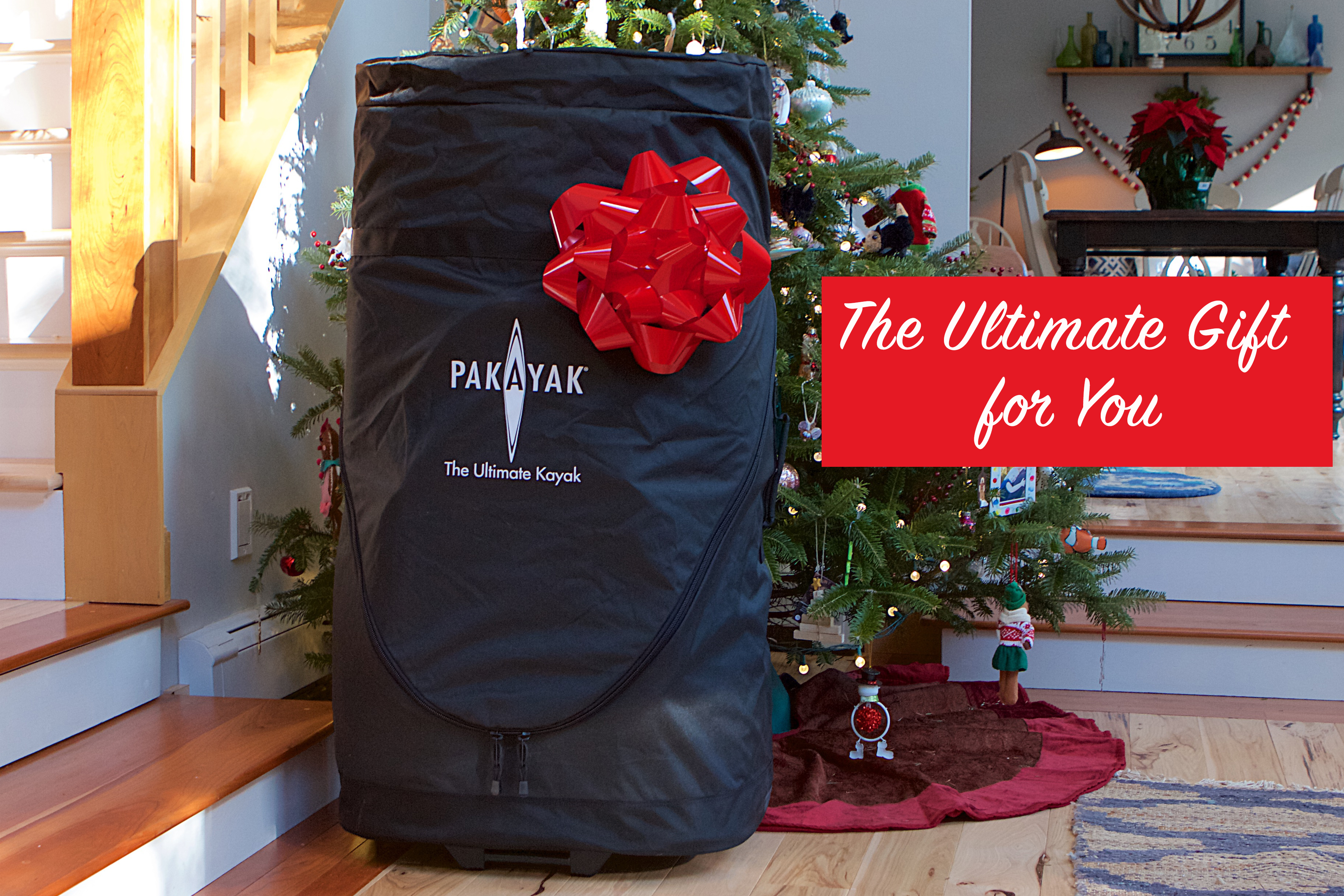 Packable kayak company looks to make splash this holiday season