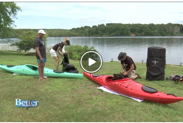 WFSB: Pack a Kayak or Two With Pakayak