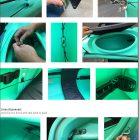 Bluefin rudder kit