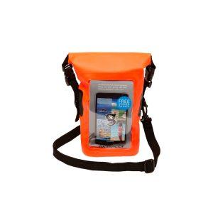 Waterproof phone tote