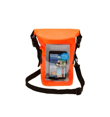 Waterproof phone tote