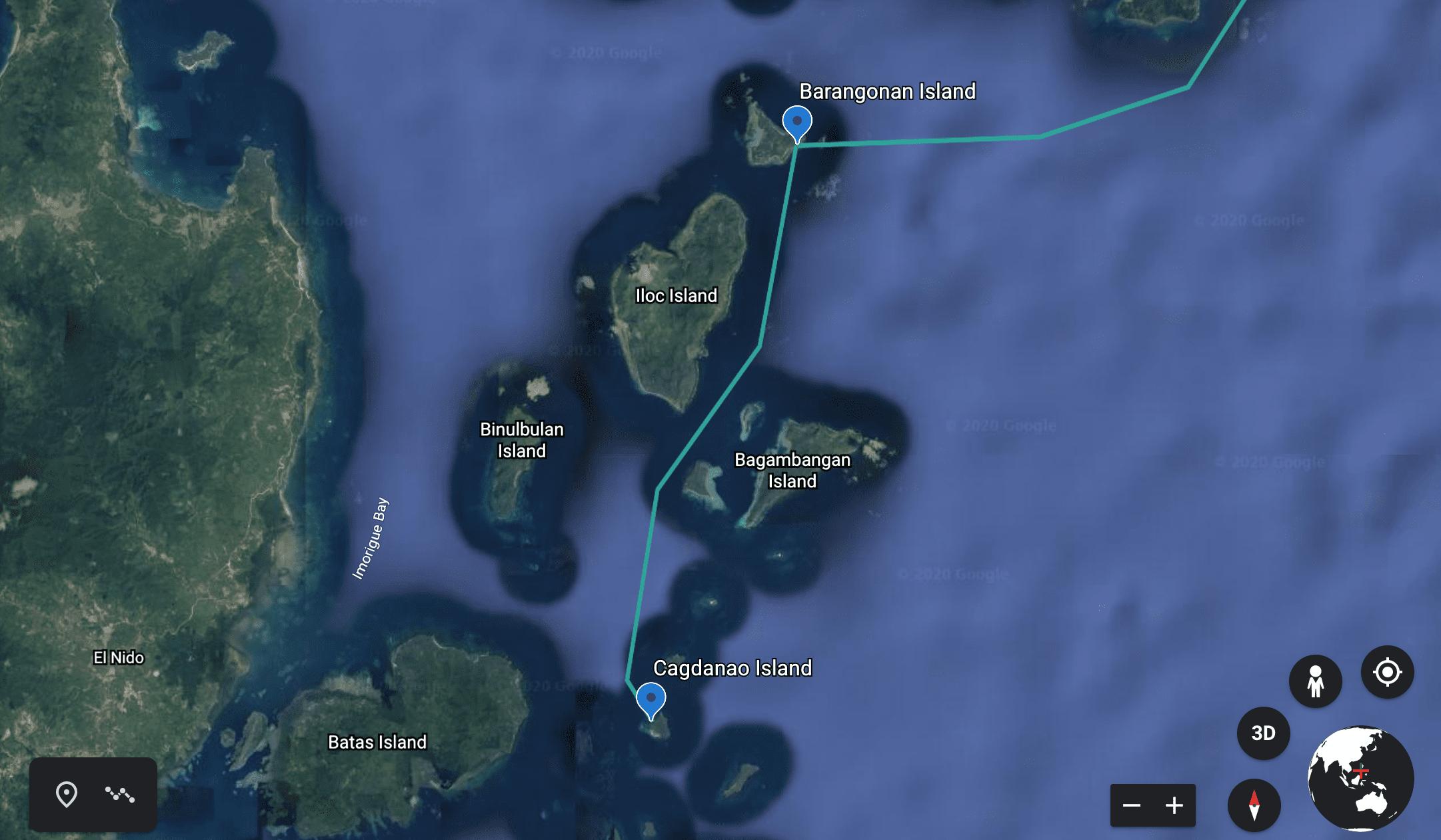 Cagdanao Island