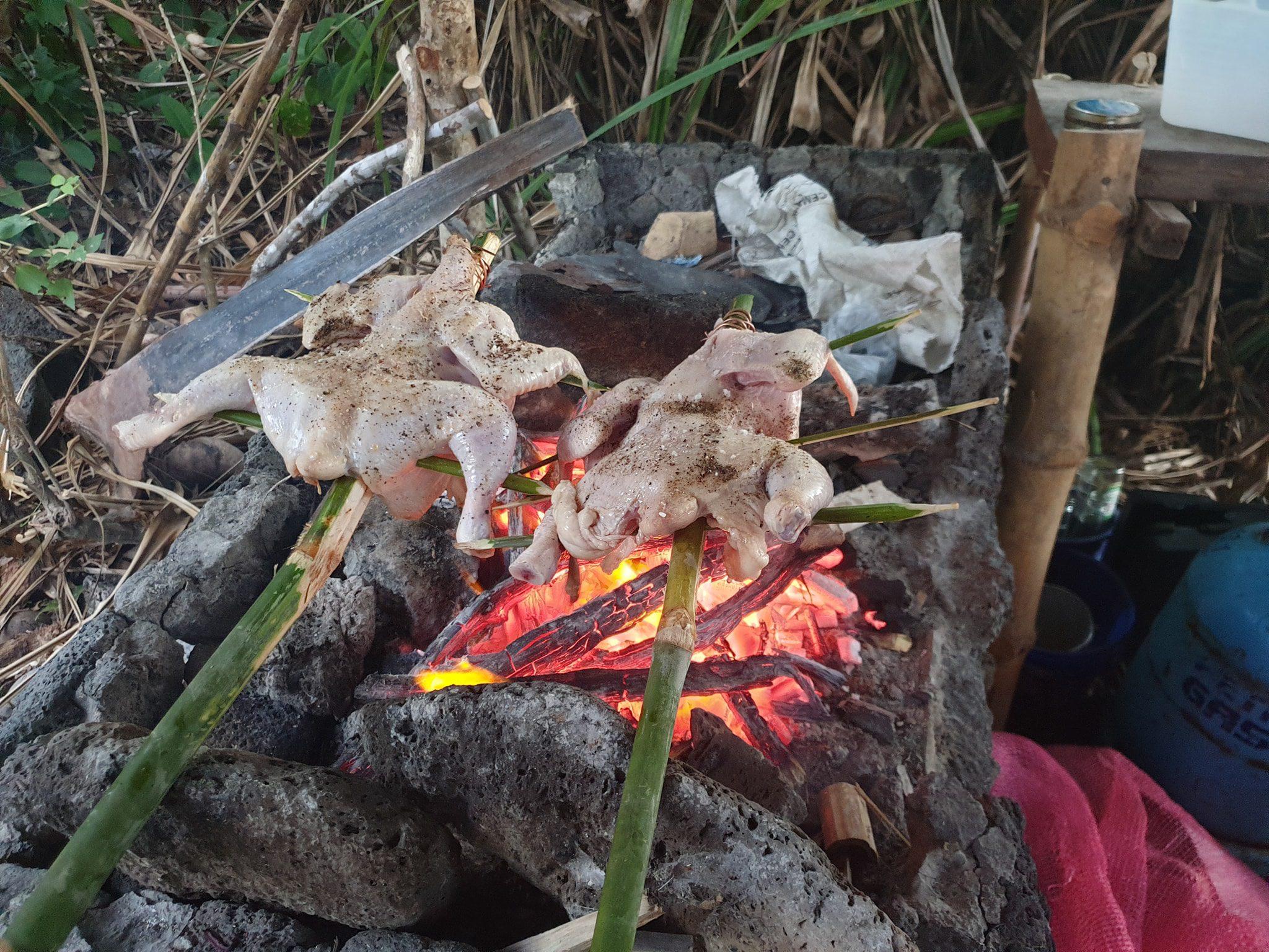 bamboo kebabs